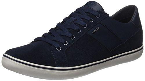 Geox Herren U Box I Sneaker, Blau (Navy), 44 EU