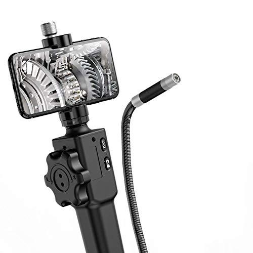 Cámara de inspección de endoscopio de ARTICULADOR DE ARTICULACIÓN USB 5.0MP con una sonda articulada de 180 Grados para el teléfono Android del iPhone