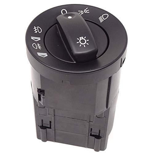 Ghiera completa interruttore controllo luci fari fendinebbia COMPATIBILE CON Audi A4 B6 Quattro 2002-2005 S4 2004-2005 Audi A4 B7 Quattro 2006-08 A15U