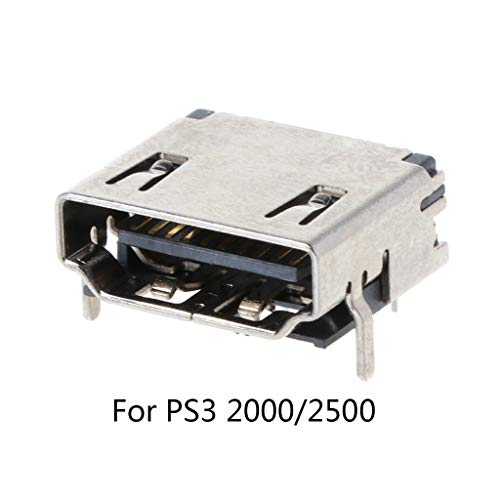 JOYKK Port Socket Connector Port Socket Interface Connector voor 3 PS3 2000 2500 Accessoires Onderdelen - Zilver