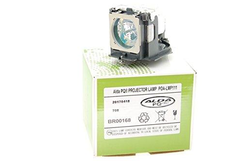 Alda PQ-Premium, Beamerlampe/Ersatzlampe kompatibel mit 610 333 9740, 610-333-9740, ET-SLMP111 für SANYO LP-WXU30(K), LP-XU105(W), LP-XU115(W), PLC-WU3800 Projektoren, Lampe mit Gehäuse
