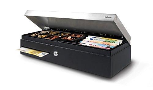Safescan SD-4617S - Cassetto portadenaro fliptop per traffico standard - 46 x 17 cm
