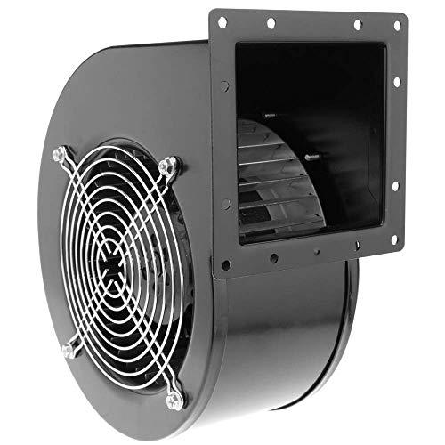 PrimeMatik - Extractor de Aire centrífugo Radial para ventilación Industrial 2600 RPM Cuadrado 202x180x115 mm