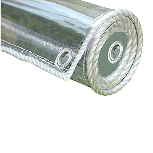 Transparente Vidrio Lonas Impermeables Exterior,Plegable PVC Cortina,Pergola Toldo Guardapolvo de Muebles de...
