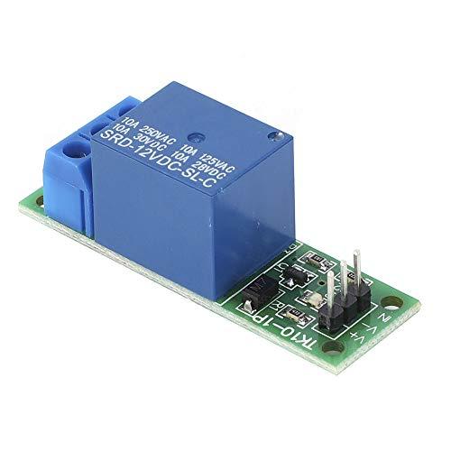 Oumefar Relaisplatinenmodul Relaisschalter 1 Kanal für Arduino