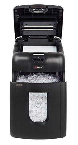 Rexel 2104100CHA Auto+ 130M Distruggi Documenti, Taglio Micro, 503x373x503 mm, Nero