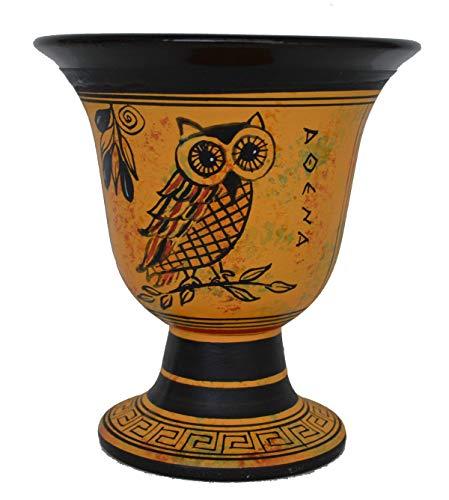 Talos Artifacts Pythagoras Tasse - Pythagoras Messbecher der Gerechtigkeit mit Eule von Athen