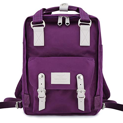 Himawari School Waterproof Backpack 14.9' College Vintage...