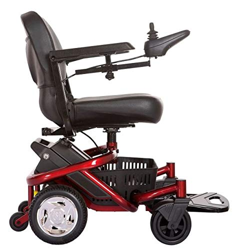 Travelux Quest Powerchair Red