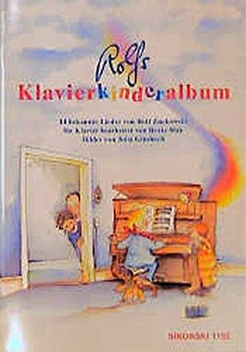 Rolfs Klavierkinderalbum: 14 beliebte Lieder für Klavier mit Gesang (Ed. 1152): 14 bekannte Lieder. Vollständige Liedertexte und methodische Anmerkungen im Anhang