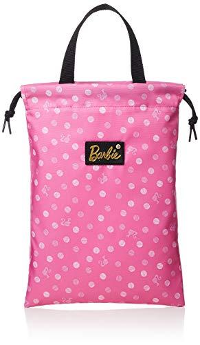 [バービー]巾着袋シューズケースピンク