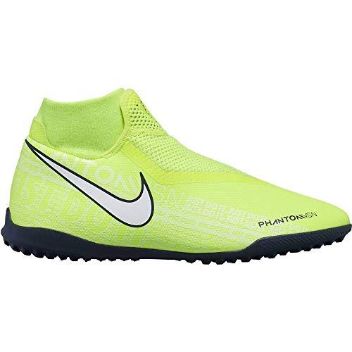 Nike Unisex-Erwachsene Phantom Vision Academy Dynamic Fit Tf Fußballschuhe, Grün (Volt/White/Volt 717), 41 EU