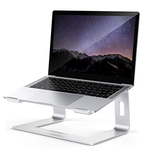 Laptop Stand for desk, Detachable Laptop Riser Notebook Holder StandErgonomic Aluminum Laptop Mount Computer Stand, Compatible with MacBook Air Pro, Dell XPS, Lenovo More 10-18' Laptops