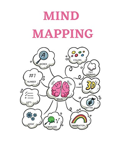 Mind Mapping Notebook: A Mind Mapping Notebook To Improve And Increase Your Memory, Concentration, Communication, Organization, Creativity