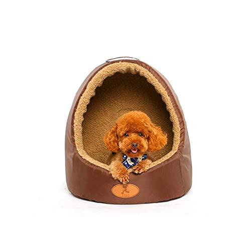 LYP Camas para Gatos Cama para Mascotas, Antiadherente, Pelo, extraíble y Lavable, colchón para Mascotas, mordedura y Suciedad Resistente (Color : B, Size : M)