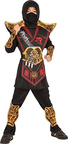 Rubie's - Disfraz de Battle Ninja para niños, multicolor, M, IT630950-M