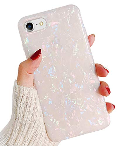 J.west iPhone 6S Plus Case, iPhone 6 Plus Case for Girls, Cute Luxury Sparkle Bling Crystal Clear Slim Flex Bumper Shockproof TPU Soft Rubber Silicone Back Cover Phone Case for iPhone 6s Plus Colorful