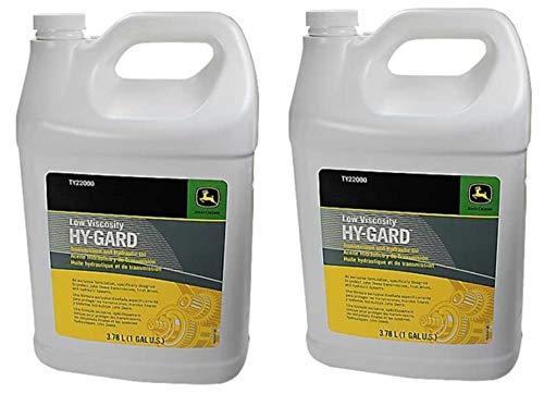 John Deere Original Equipment (2) Gallons of Hy-Gard Transmission & Hydraulic Oil #. (2)