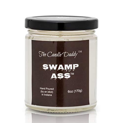 Swamp Ass- Gross Smelly Candle- Stinks- Hand Poured (by an Idiot) in Indiana