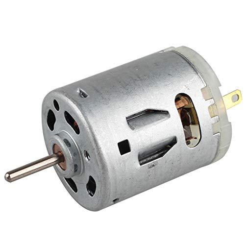 HALJIA DC 12 V 12000 U/min 365 Mikromotor Mini magnetischer kleiner Motor 365 für Smart Car Haartrockner DIY Spielzeug