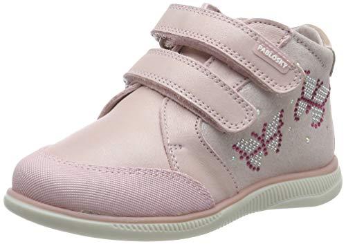 Pablosky Baby Mädchen 66470 Hausschuhe, Pink (Rosa Rosa), 21 EU