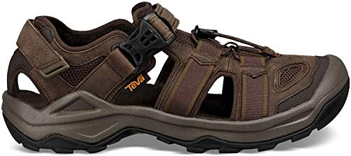 Teva Men's M Omnium 2 Leather Fisherman Sandal, Turkish Coffee, 11 M US