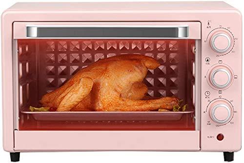 Temperatura 22L controlado horno Mini 0-250 ℃ y 120 minutos posición de sincronización de la mandíbula tres turnos cocina cocción de tortas automático de múltiples funciones horno eléctri.