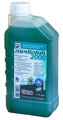 Sägekettenöl Bio 1 Liter KETTLITZ-Medialub 2000'Blauer Engel' nach neuester RAL-UZ 178
