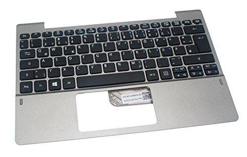 Acer Original Tastatur deutsch (DE) + Top Case Silber Aspire Switch 10 V Pro SW5-014P Serie