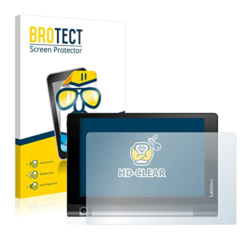 BROTECT Schutzfolie kompatibel mit Lenovo Yoga Tab 3 850F 850M 850L (2 Stück) klare Displayschutz-Folie