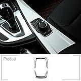 BMW 2シリーズF46 218i 2015-2017、ABSクロームマルチメディアスイッチスパンコールトリムカーアクセサリーインテリアモールディング