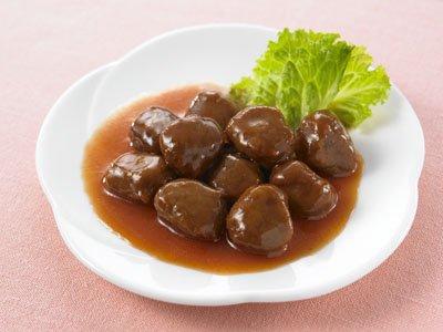 『イシイの食物アレルギー配慮食 プチミート トマト味』の1枚目の画像