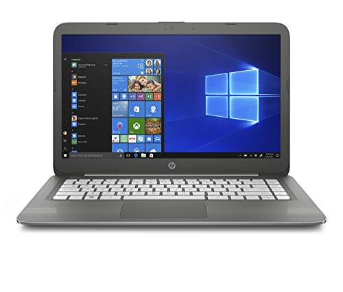 HP Stream 14-inch Laptop, Intel Celeron N3060 Processor, 4 GB SDRAM Memory, 32 GB eMMC Storage, Windows 10 Home in S Mode with Office 365 Personal for one Year (14-cb030nr, Smoke Gray)