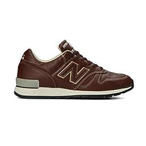 [ニューバランス] シューズ M670 ワイズ:D UK メンズ スニーカー 靴 M670 NB 20FW (BROWN, 27, measurement_27_point_0_centimeters)
