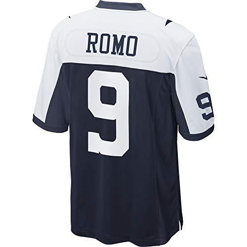 Dallas Cowboys Mens NFL Nike Game Jersey, Tony Romo, Large, Throwback