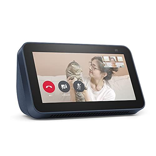 【新型】Echo Show 5 (エコーショー5) 第2世代 - スマートディスプレイ with Alexa、2メガピクセルカメラ付...