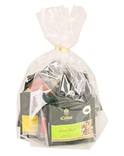 Komplett-Set Tea Diamonds, 24 Stück einzelverpackt in Geschenktütchen