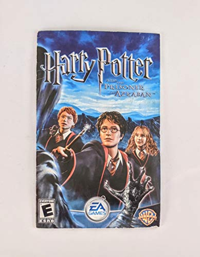 Harry Potter and the Prisoner of Azkaban User's Manual PS2 Instruction Booklet (PlayStation 2 Manual ONLY - NO GAME)