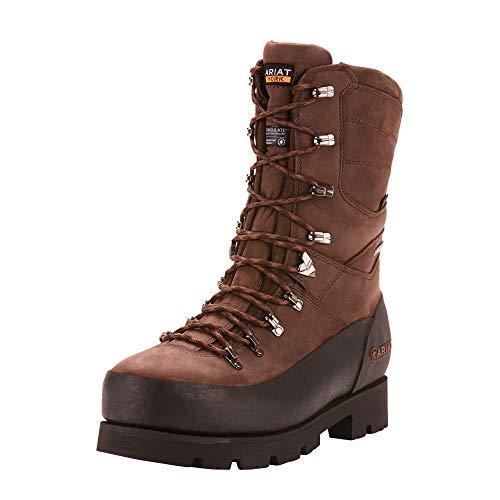"Ariat Work Men's LINESMAN 10"" GTX 400G Composite Toe Boot, bitter brown, 11 D US"