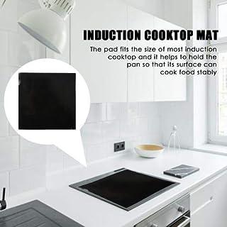 Tapis de cuisson à induction en silicone, antidérapant, haute résistance à la température 250 °C Carré 25 x 25 cm.
