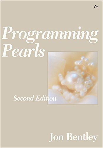 Programming Pearls (English Edition)