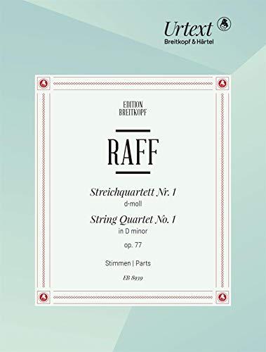 Streichquartett Nr. 1 d-moll - Breitkopf Urtext - Stimmensatz (EB 8939)