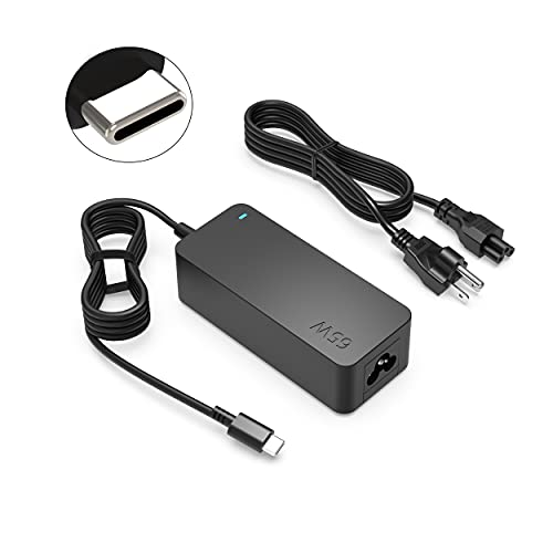 65W 45W Type-C Charger Fit for Lenovo Yoga C740 C940 C930 920 730 730S USB-C IdeaPad-Yoga Series Laptop Power Adapter