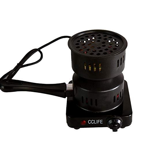 CCLIFE Hornillo el/éctrico cachimba carb/ón Shisha Encendedor el/éctrico cachimba shisha