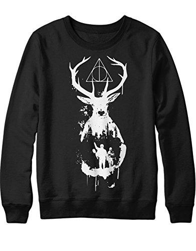 Sweatshirt Harry Phantastische Tiere Deer C983064 Schwarz XL