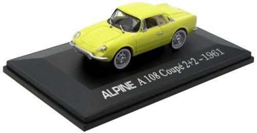 Universal Hobbies - 5068 - Véhicule Miniature - Alpine - Renault A 108 Coupe 2+2 - Echelle 1/43