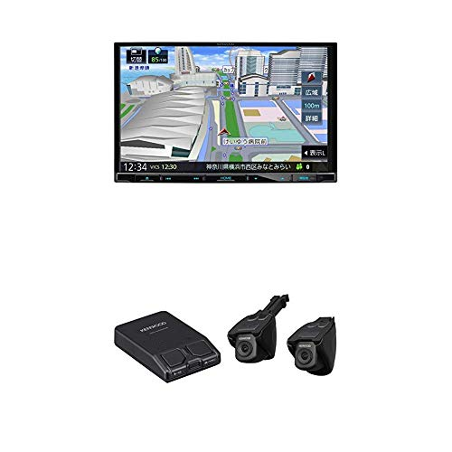 Kenwood(ケンウッド) ナビ連携2カメラDVR対応 彩速ナビゲーション 8インチ MDV-S707L