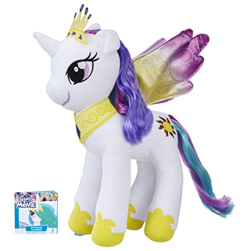 My Little Pony E0429ES0 Mähnenspaß Plüsch Prinzessin Celestia