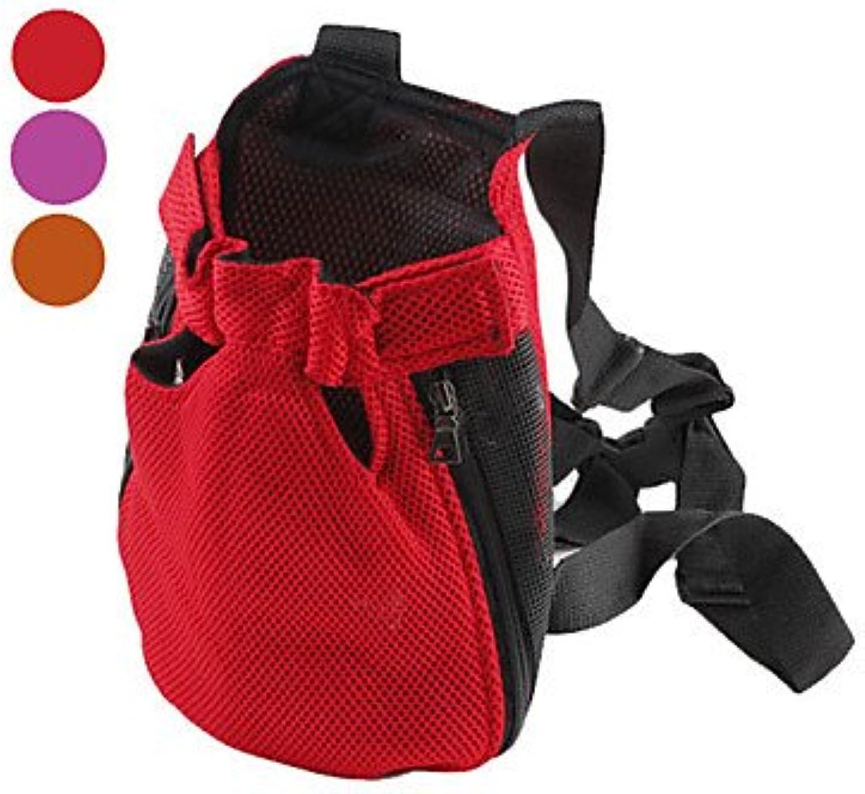 Quick shopping Comfort Mesh Dog Cat LegsOut Package Carrier for Pets (SL, Assorted colors) , orange , L