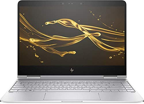 HP Spectre x360 Silver Convertible Ultrabook i7 up to 3.5GHz 16GB 512GB SSD 13.3in FHD B&O Webcam WiFi (Renewed)